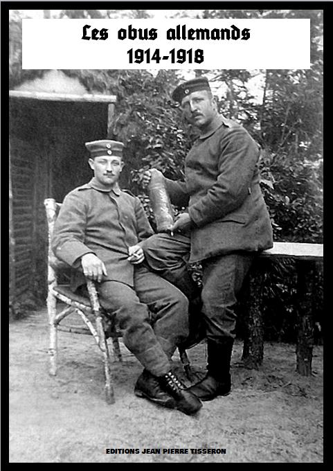 Livre sur les obus allemands 1914-1918