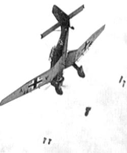 Les bombardements de l'enfer à Sedan en mai 1940