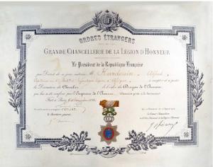 Grande Chancellerie de la légion d'Honneur