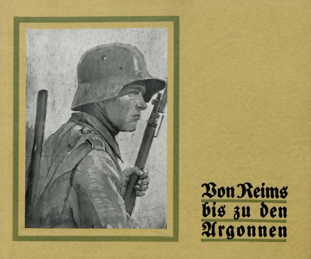 Von Reims bis zu den Argonnen