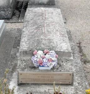 tombe dEtienne St-Denis' dernier mamelouk de Napoléon 1er