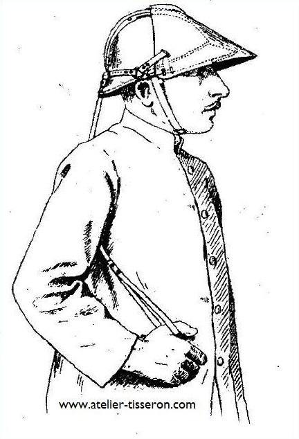 renfort mobile pour casque adrian 1916