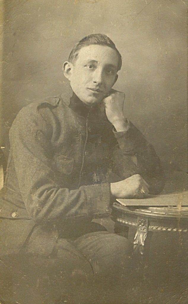 Achille Nollomont soldat Belge 14-18